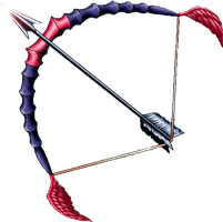 Silver Bow and Arrow png yugioh by Carlos123321