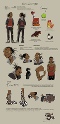 Erin Campos Reference Sheet by browserdude