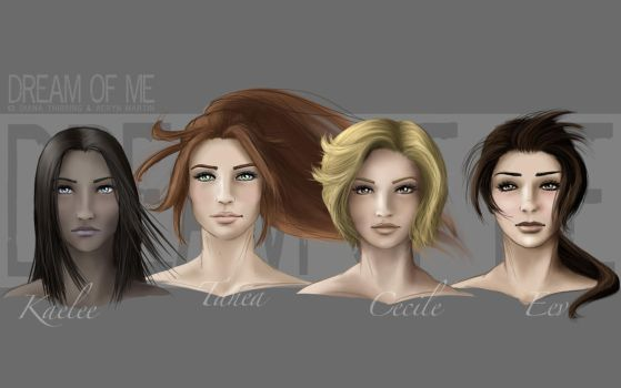 DoM - Ladies portraits by DianaHold