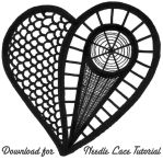 Needle Lace Heart Tutorial by Wabbit-t3h
