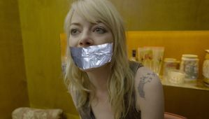 Emma Stone Gagged 2 by TheBlenderTaper