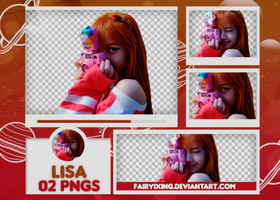 [PNG PACK #660] Lisa - BLACKPINK by fairyixing