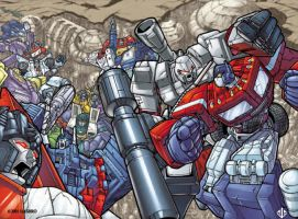 TRANSFORMERS COVER COLORS by crackmatrix