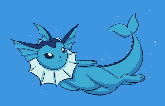 vaporeon by replacer808