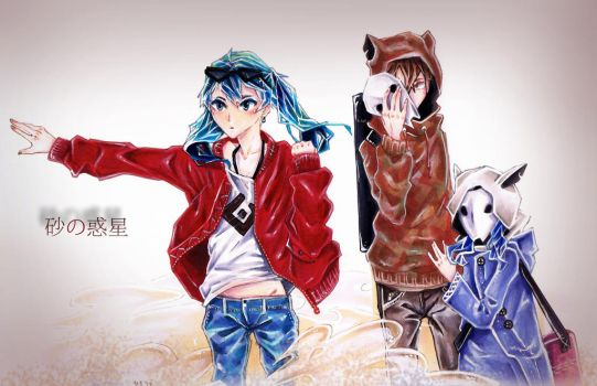VOCALOID - Sand Planet - Crossover by HiddenService
