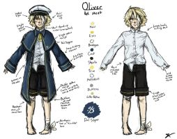 Oliver Reference Sheet by lawlietlk