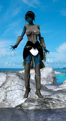 Igolono in armor on the beach by darius44110