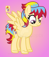 Stormshimmer Pony - Offer To Adopt - SOLD by MonkFishyAdopts
