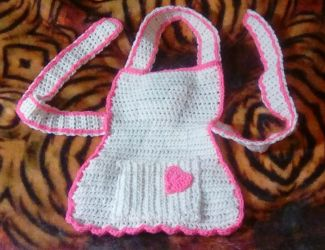 Baby Apron by superpower-pnut