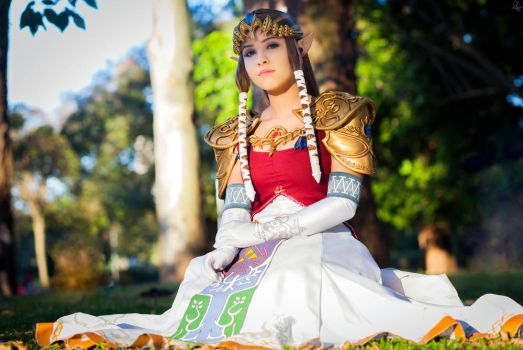 Princess Zelda from Twilight Princess by LayzeMichelle