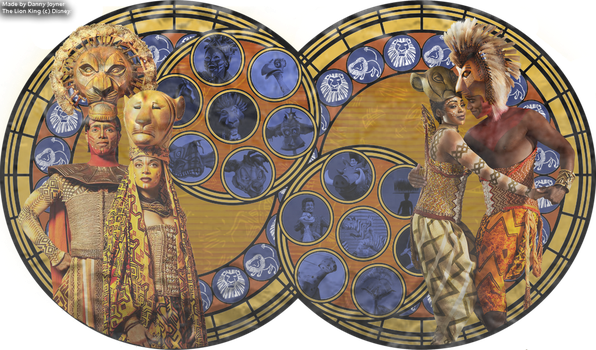 Stained Glass - The Lion King on Broadway by RDJ1995