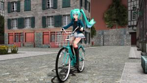 Cyclin' Along (Pose DL) by rellacrystal