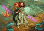 Commission Heather and Mara Jade by tr1ff1d