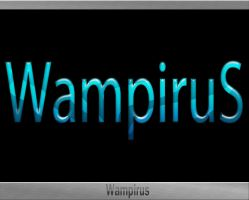 Glass Text Effect by WampiruS