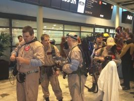 Ghostbusters cosplay in Stockholm by EgonEagle