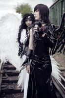 Angel Sanctuary. Alex,Lucifer by LaiKa86