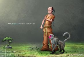 Monk - Child by dinmoney