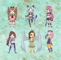 SO4 - Doll Collection by cutepiku