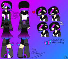 New OC-Cluzai Esellis by HerrenLovesFNAF