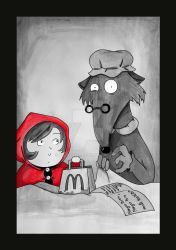 Big Little Red Riding Hood by Lililou33
