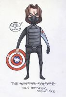 Winter Soldier doodle by sn0otchie