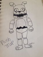 Plushtrap  by Pinkwolfly