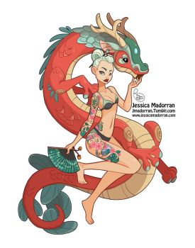 Character Design - Japan Inspired Character 03 by MeoMai