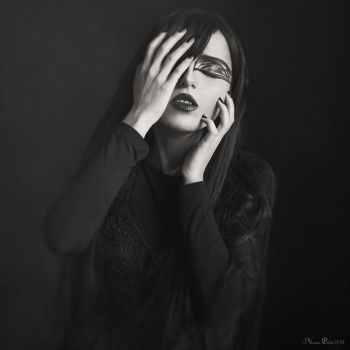 Love me in black by Nazrin-Polad