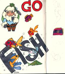 Go Fish! by Jesness