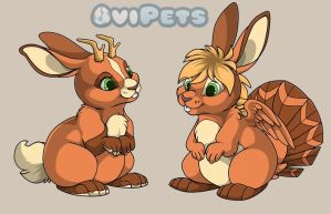 Lepus specie- Ovipets by PixelRaccoon