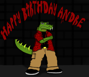 Happy Birthday, Andre! by dwaters220