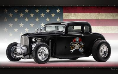 Hot Rod Ford 32 coupe wallpaper by favorisxp