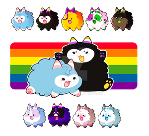 (CHARITY) Pride Puffs, CLOSED!