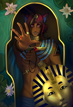 Mahes -  Down the nile by Astra-cat