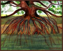 Blessed Man Deeply Rooted by DawnArtistry