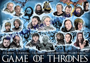 Game of Thrones season 8 by mrinal-rai