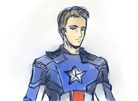 Captain America by PGxSCRIBBLESx27