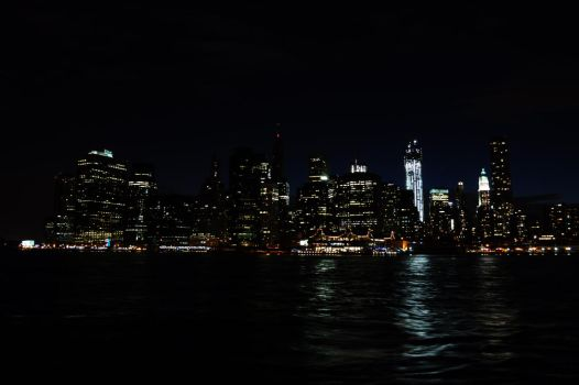 Skyline New York City by DirtyMarti