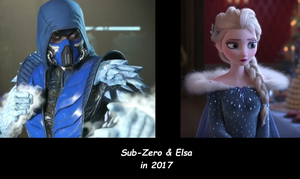 Sub-Zero and Elsa in 2017 by TexPool