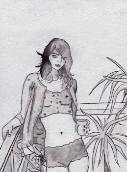 Ink Lady Practice by Parasiitti