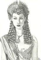 Vivien Leigh as Cleopatra by Mercantille