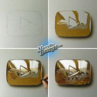 My Golden Play Button finally came! by marcellobarenghi