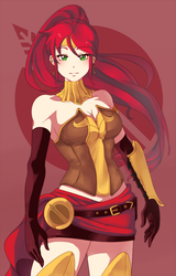 Pyrrha Nikos by 21as