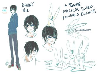 OC REF:: Danny by Stariaria