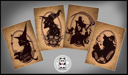 Official Discworld characters prints by firecrow78