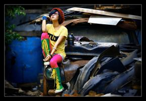 the JUNK III by afvoetomath