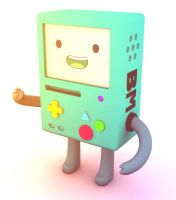 BMO 3D by superjitan