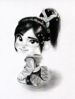 Vanellope - Did ya say I was cute? by artistsncoffeeshops