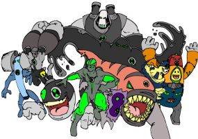 for all those ben 10 fans by bigafroman