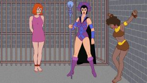 Diana And Sheila In The Dungeons Of Evil Lynn by VictorZulu